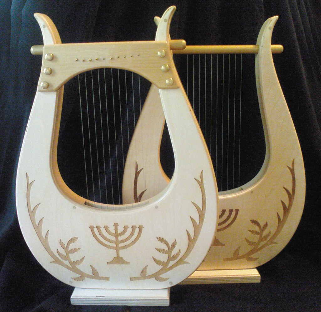 how to make a kinnor harp